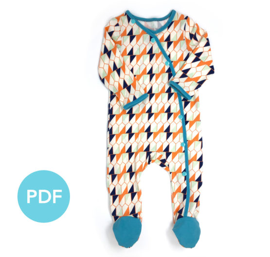 Piper Footed Bodysuit
